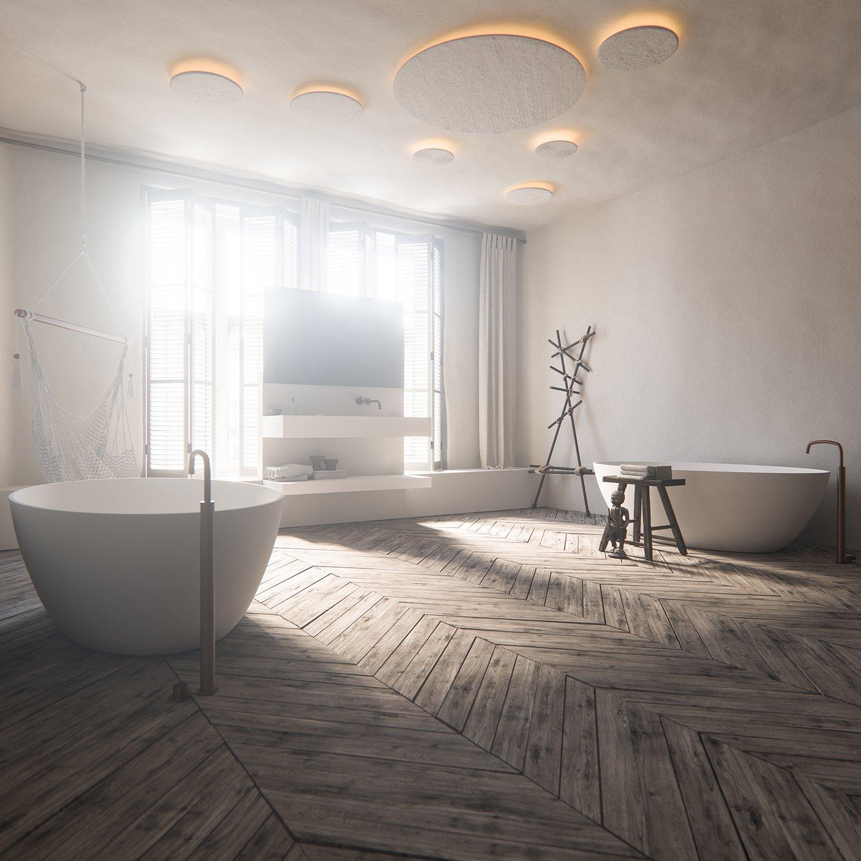 Virtual reality bathroom 3d