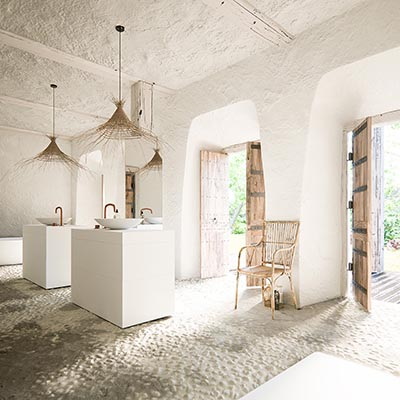 Photo-realistic bathroom 3d Interior