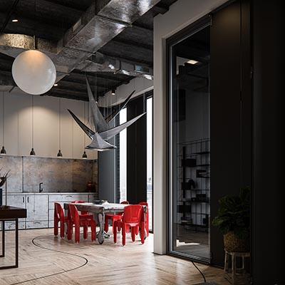 3d concept archviz Interior