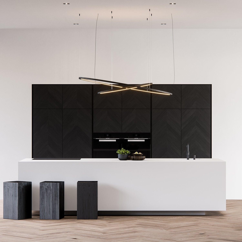 3d kitchen product Interior visualization