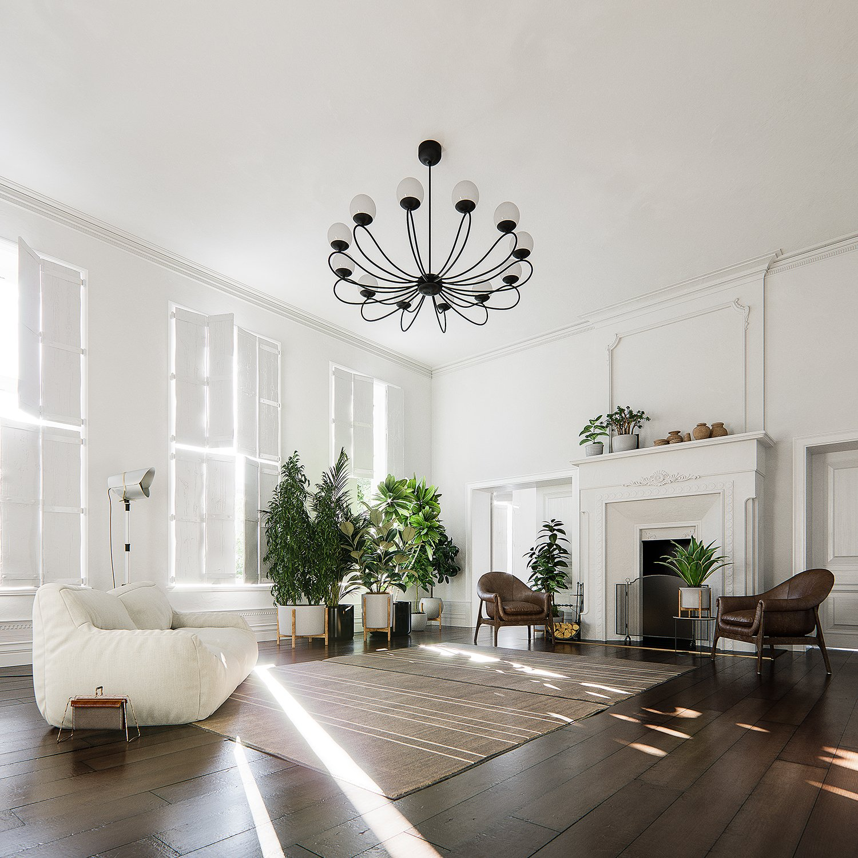 3d Visualization interior design residential conversion